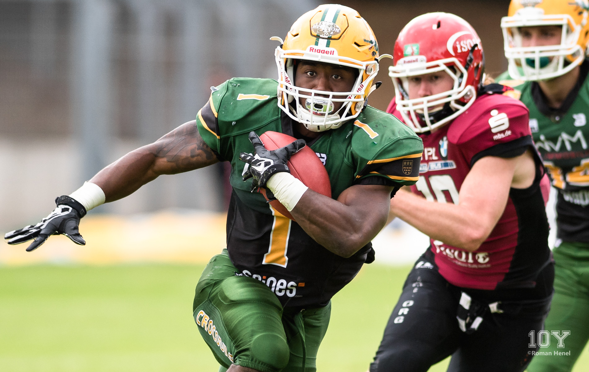 Edwards Shayeen, Running back (RB), Cologne Crocodiles, GFL