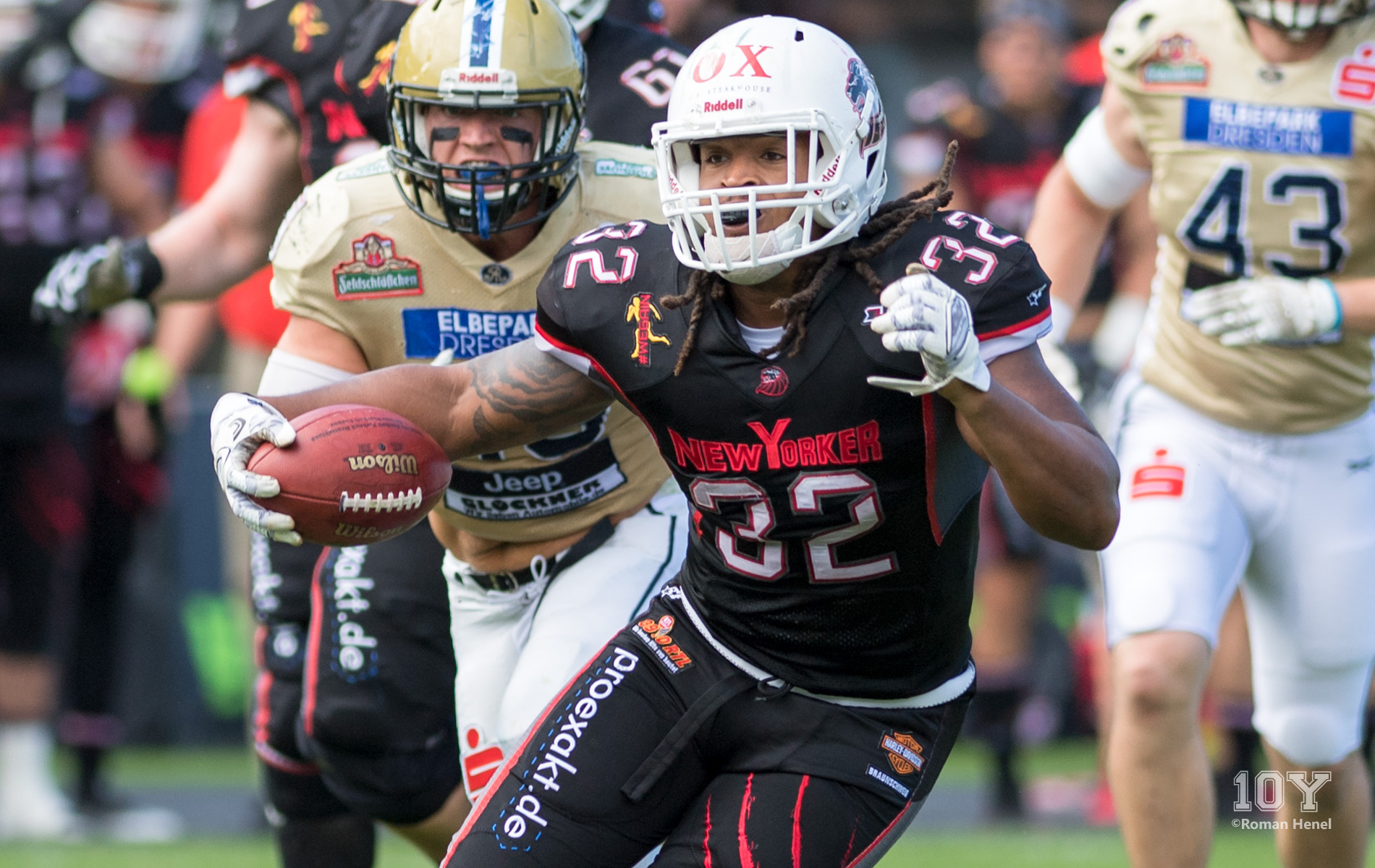 Christopher McClendon, Running back (RB), NewYorker Lions, GFL