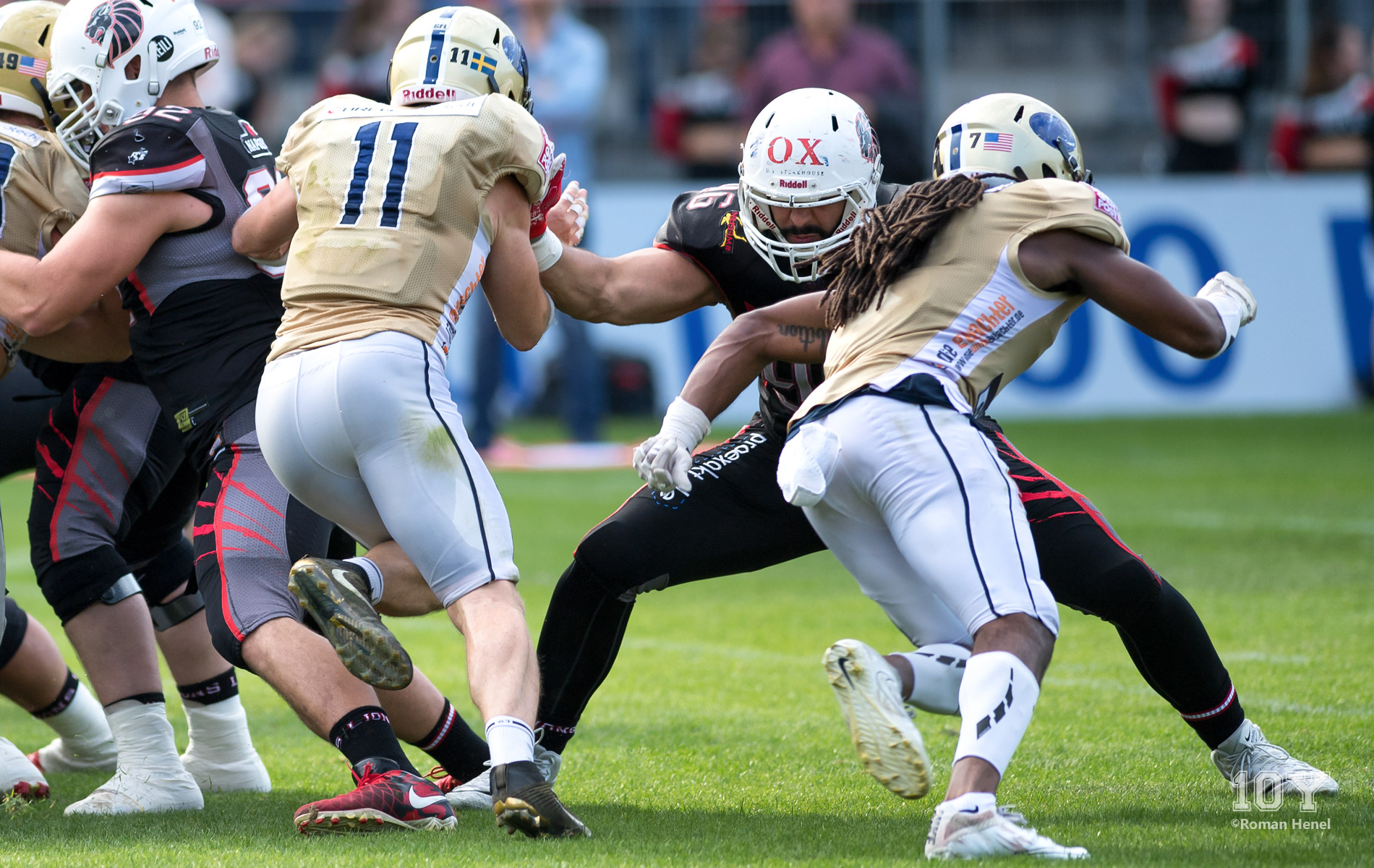 Samuel Kargel, Defensive Line (DL), NewYorker Lions, GFL
